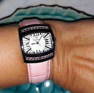 Accessories - Lucien Piccard 27077pk Stainless Steel Watch Pink